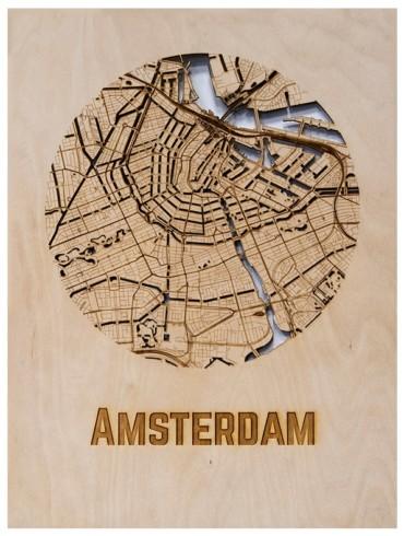 WoodyMaps ♥ Amsterdam