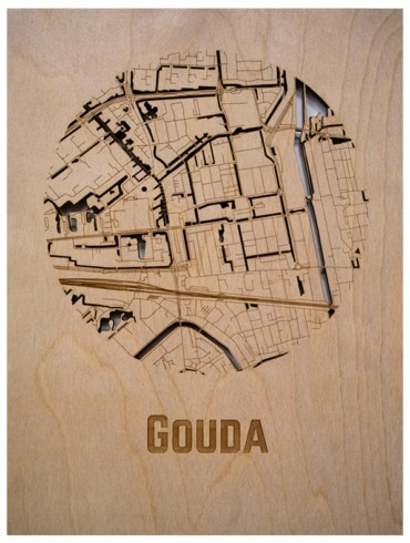 WoodyMaps | Your City In Wood