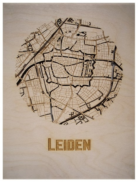 WoodyMaps   Your City In Wood