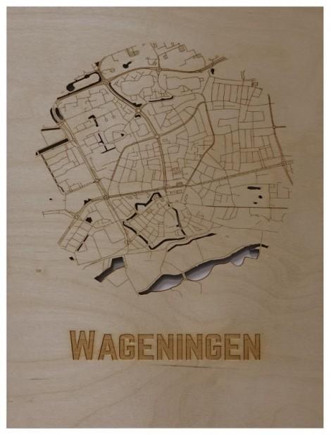 WoodyMaps ♥ Wageningen