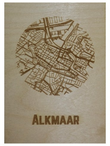 WoodyMaps ♥ Alkmaar
