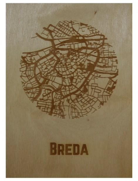 Ansichtkaart van Breda