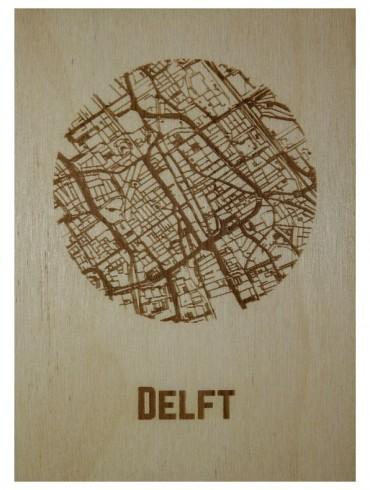 WoodyMaps ♥ Delft