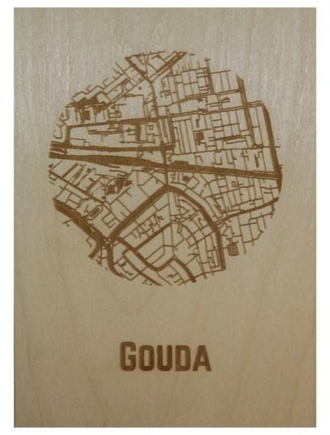 Ansichtkaart van Gouda