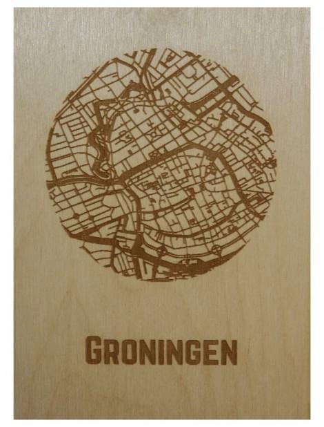 Ansichtkaart van Groningen