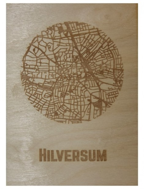 Ansichtkaart van Hilversum