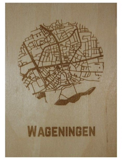 Ansichtkaart van Wageningen