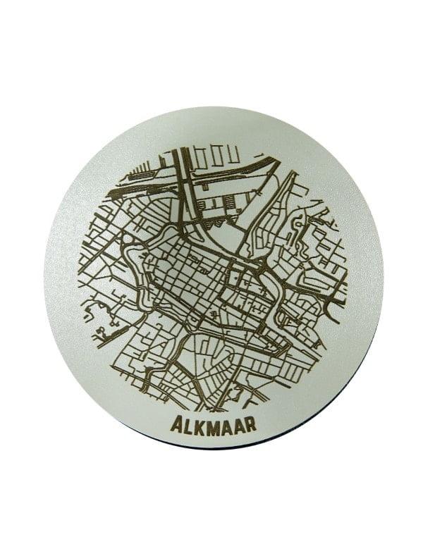 WoodyMaps ♥ Alkmaar • Coaster