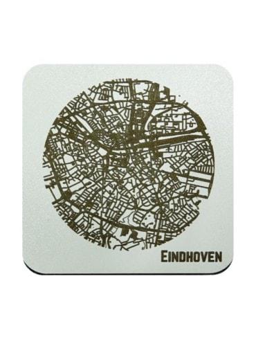 WoodyMaps ♥ Eindhoven • Coaster