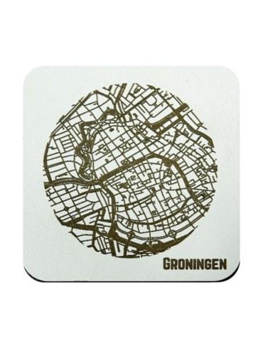 WoodyMaps ♥ Groningen • Coaster
