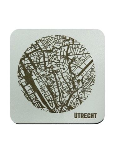 WoodyMaps ♥ Utrecht • Coaster