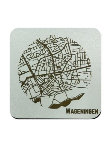 WoodyMaps ♥ Wageningen • Coaster